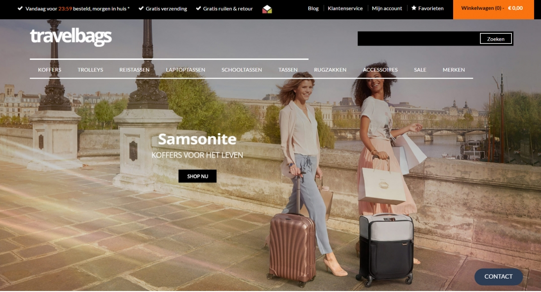 Travelbags webshop